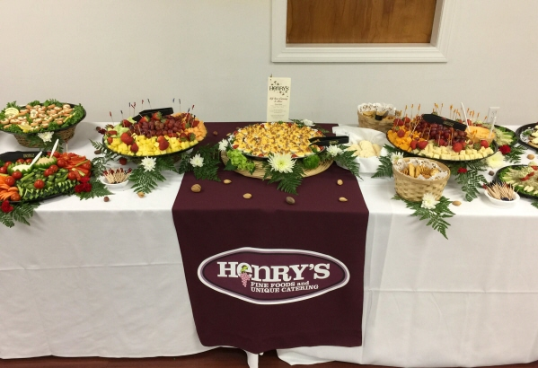 Light Refreshments made by Henry's Market