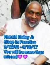 Ronald  Bailey , Jr.