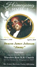 Deacon James Johnson