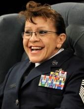 CMSgt Bernadette Marie Borders, USAF, (Ret.)