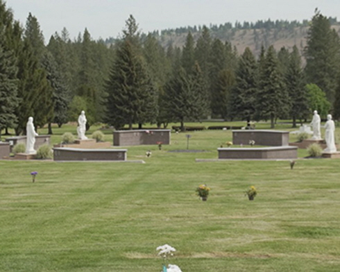 Spokane-Cheney Memorial Gardens