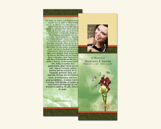 Custom Photo Memorial Cards