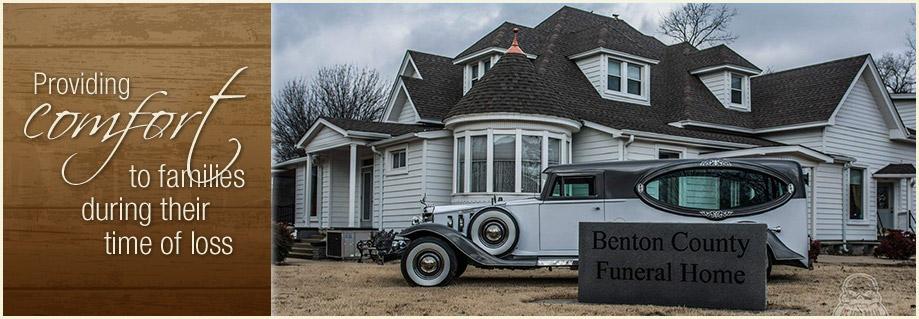 Benton County Funeral Home • Rogers, Arkansas