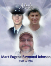 Mark  Eugene Raymond Johnson