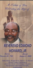 Photo of Rev. Edmond Howard Jr.