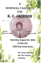 Photo of K.C. Jackson