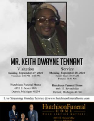 Keith DeWayne Tennant Sr.