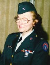Photo of Lieutenant Colonel Freida Williams United States Army Ret.