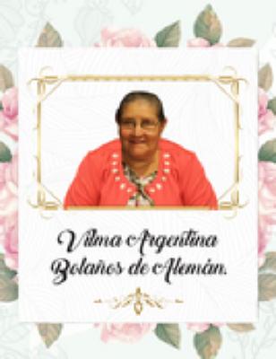 Vilma Argentina Alemán