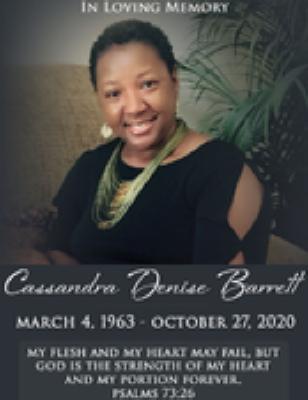 Cassandra Denise Barrett