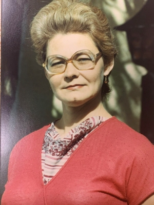 Frances Lorraine Bergeron (nee Hobbs)