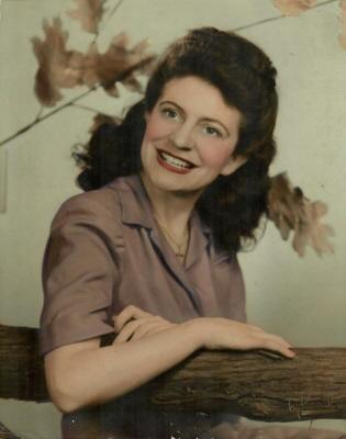 Photo of Dorothy McCann