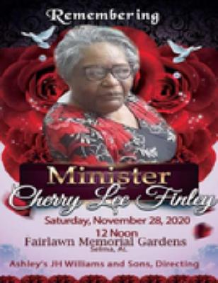 Minister Cherry D. Finley