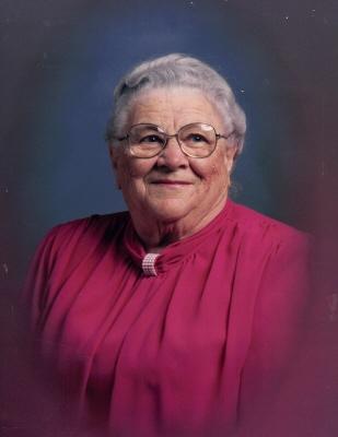 Photo of Bertha Mee (nee Craven)