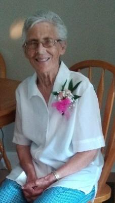 Photo of Velma Leach (nee Belland)