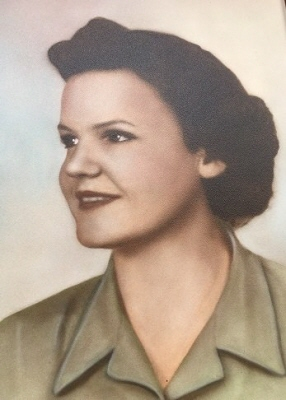 """Photo of Marjorie """"Marge"""" Gouthro, Dominion"""