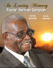 Pastor Herman Sampson