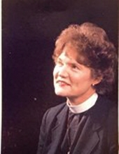 The Reverend Dr. Ruth Wallace Black